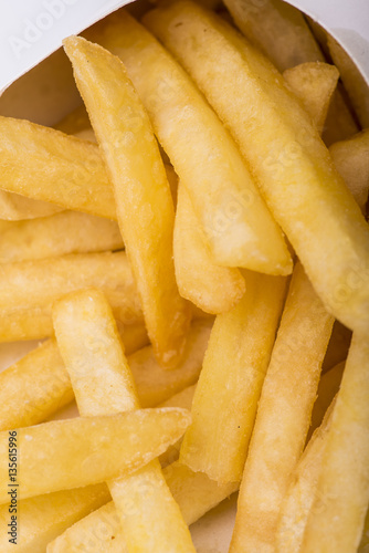 Poster patatine fritte