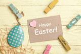 Fototapety Easter decoration card