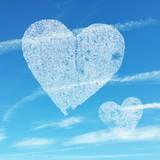 heart against the sky