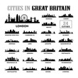 Great Britain - United Kingdom Cities City Tour Travel Skyline