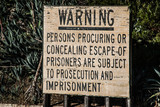 Alcatraz Warning