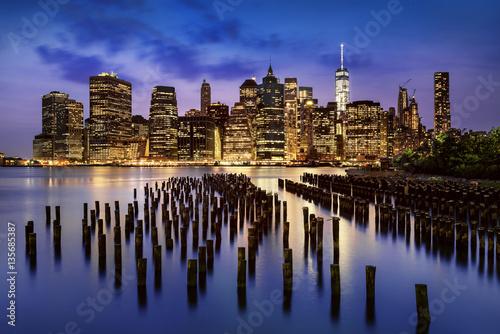 Poster New York  City lights