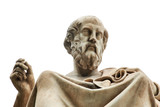 Statue of Plato in Athens. - 135686717