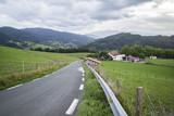 Paisaje rural, Guipuzcóa, País Vasco, España