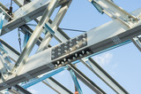 Steel frame structure - 135701917
