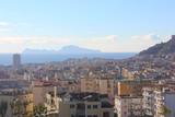 View of Naples and Capri, Italy