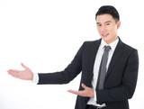 business man introduce
