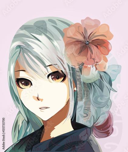 anime girl - 135733700