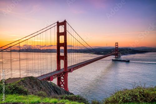 Foto op Aluminium Beijing Golden Gate Bridge in San Francisco