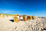 Gorgeous Blue Sky at Wenningstedt Beach/ Germany - 135777581