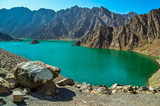 Hatta Dam Green Lake