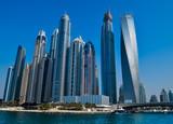 Dubai Marina Nowoczesna Architektura