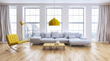 Modern living room - 135812949