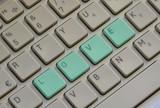 Amore tastiera azzurro - 135814128