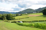 French country landscape, Pyrenees-Atlantiques
