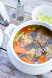 soup with pork