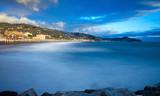 Golfo del Tigullio - Sestri Levante sullo sfondo - Lavagna - Mar Ligure - Italia