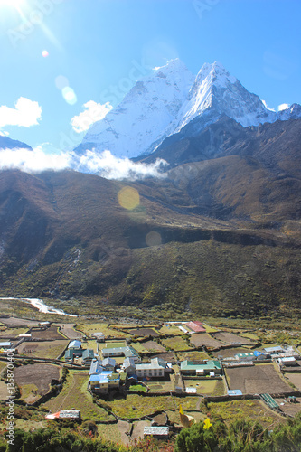 Ama Dablam in der Everest Region Poster