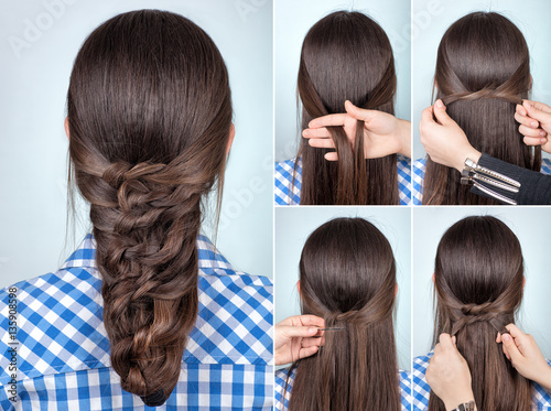 simple hairstyle tutorial © alter_photo