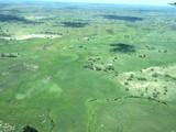 Flying over Okavango Delta in green season