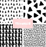 Triangles Pattern Collection - 135912148