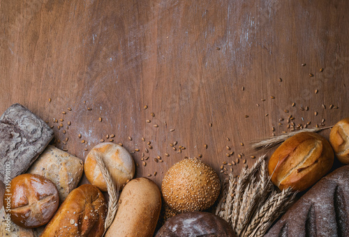bakery products wallpaper