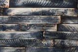 strips of wood, burnt wood surface - 135958565
