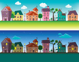 Small towns houses