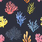 Watercolor colar pattern