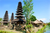 Pura Taman Ayun of Mengwi - Balinese temple located on Bali, Indonesia