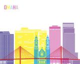 Fototapety Omaha_V2 skyline pop