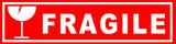 autocollant fragile pour l'emballage - 136067519
