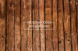 Vector Wooden Background. Brown Wood Planks. - 136074949