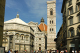 Florenz Domanlage mit Baptisterium