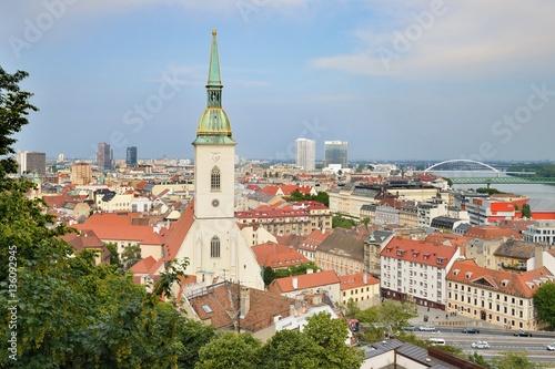 Poster Bratislava - the capital of Slovakia