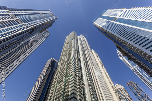 Skyscrapers in Dubai Marina