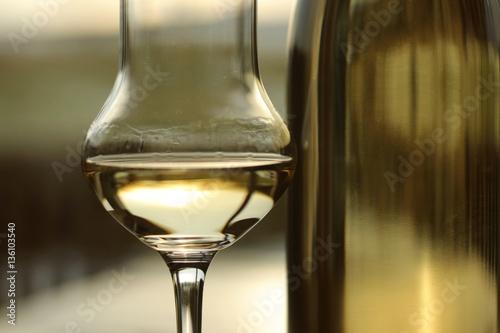 Poster schnaps glas flasche III