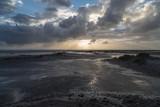 Starkwind an Nordseeküste
