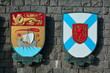 Canadian coats of arms for New Brunswick and Nova Scotia