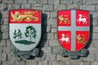 Canadian coats of arms for Newfoundland,PEI.