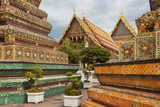 Colorful temples in Bangkok