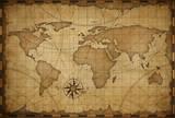old world nautical map vintage background