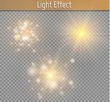 Fototapety Glow light effect. Star burst with sparkles.