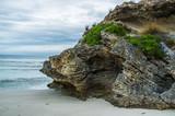 Beautiful eroded rock at Pennington Bay, Kangaroo Island, South Australia.