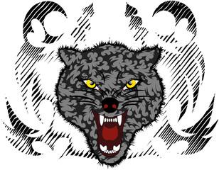 Wolf illustratoin