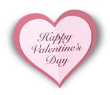 Paper Valentine Hearts