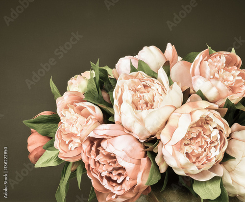 Fototapeta Peony flowers