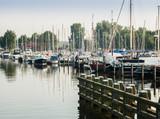 Harbor of Nijkerk, Gelderland, Holland, NLD