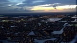 Fort Lauderdale Night Everglades Aerial
