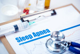 Medical Concept: Sleep Apnea